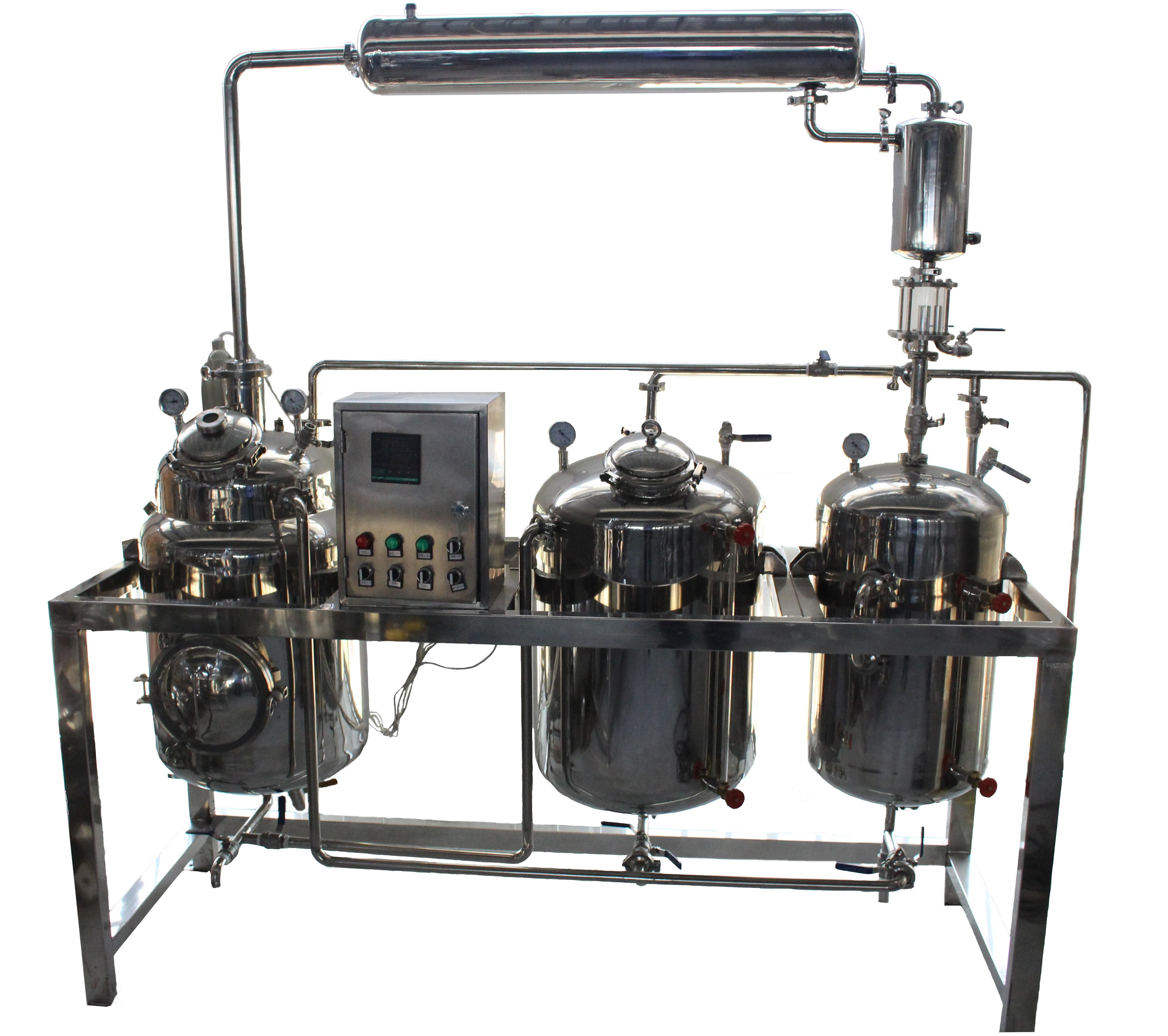 ZTH-500提取浓缩机组-中药提取设备